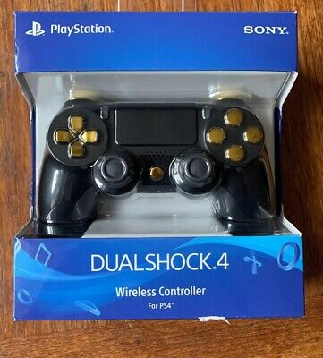 BLACK & GOLD PRO PS4 MODDED RAPID FIRE CONTROLLER - BEST