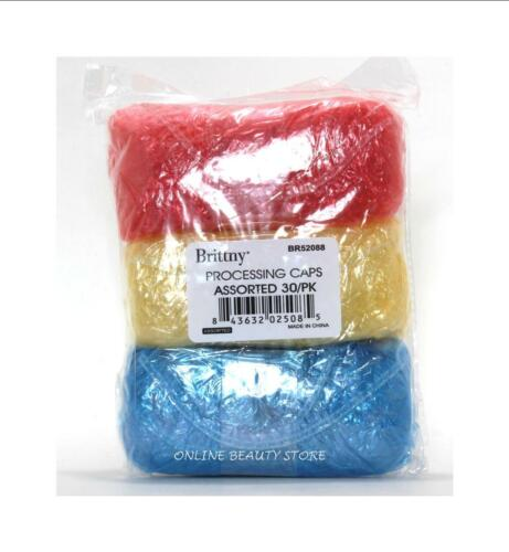 Disposable Hair Processing Caps for Shower, Salon,Travel & More 30/PK