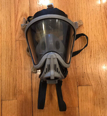 Msa Ultra Elite Respirator Mask Size Large Used