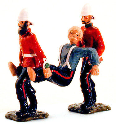 """Dorset Toy Soldiers - """"Jones and Jones Clear the Hospital"""" - gloss metal 1/32nd"""