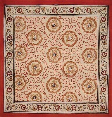 Hand Block Print Bagru Cotton Table Napkin 20