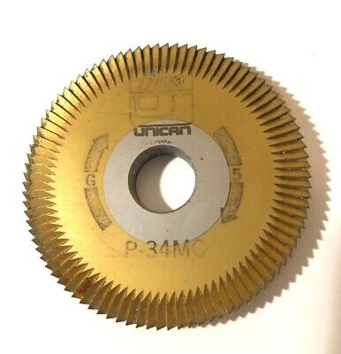 Ilco P-34MC Key Machine Cutter Cutting Wheel Unican G5 Free Shipping