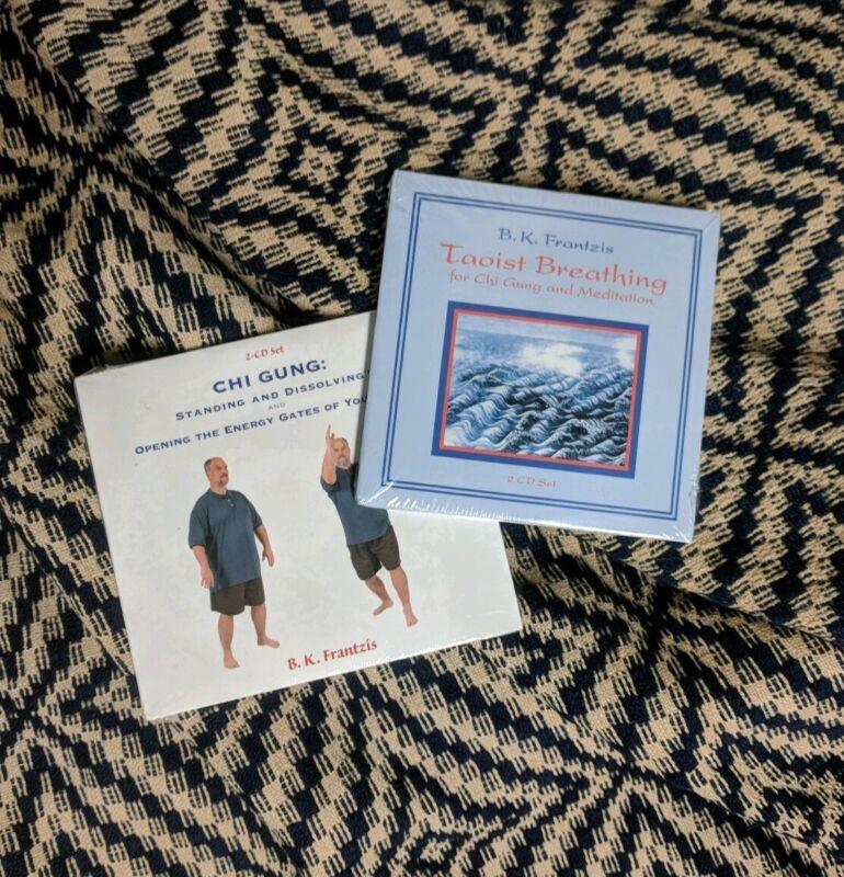 B.K. Frantzis 2 CD Lot Chi Hung And Taoist Breathing Rare New Age Yoga Energy