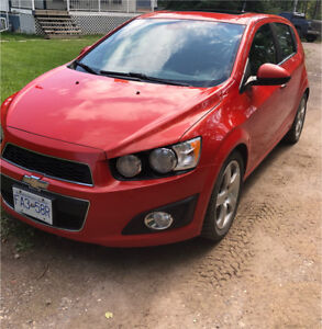 2012 Chevy Sonic Hatchback LTZ Turbo