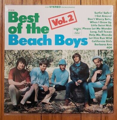 Best Of The Beach Boys Vol.2 LP DT-502706 Columbia House Record SHRINK* (Best Of Beach House)