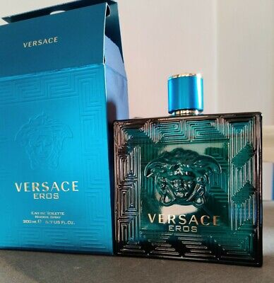 Versace Eros EDT 200ml (Slightly Used)