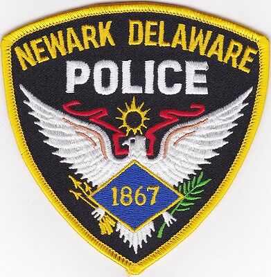 Newark Police Delaware Patch NEW
