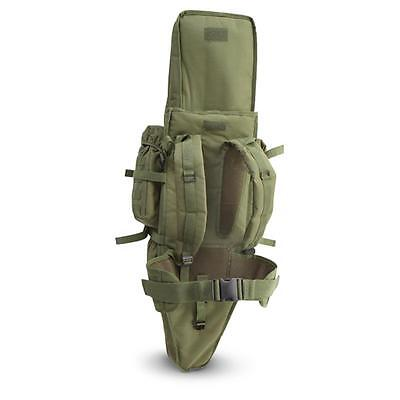 Tactical Assault Bag Pack 4 Rifle OD Green Hunting Padded Cactus Jack Backpack