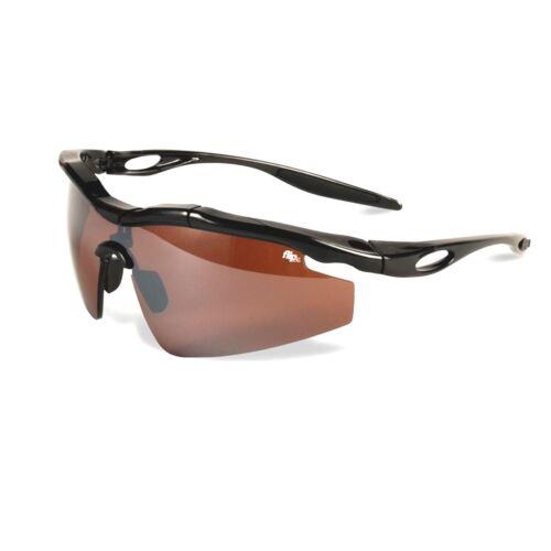 Medicus Golf Flipz Sunglasses Protection Eyewear Shades Amber Titerion w/ Case