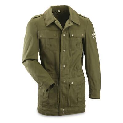 Hungarian Military Mens L Combat / Field Jacket, OD-Green - VTG Military -