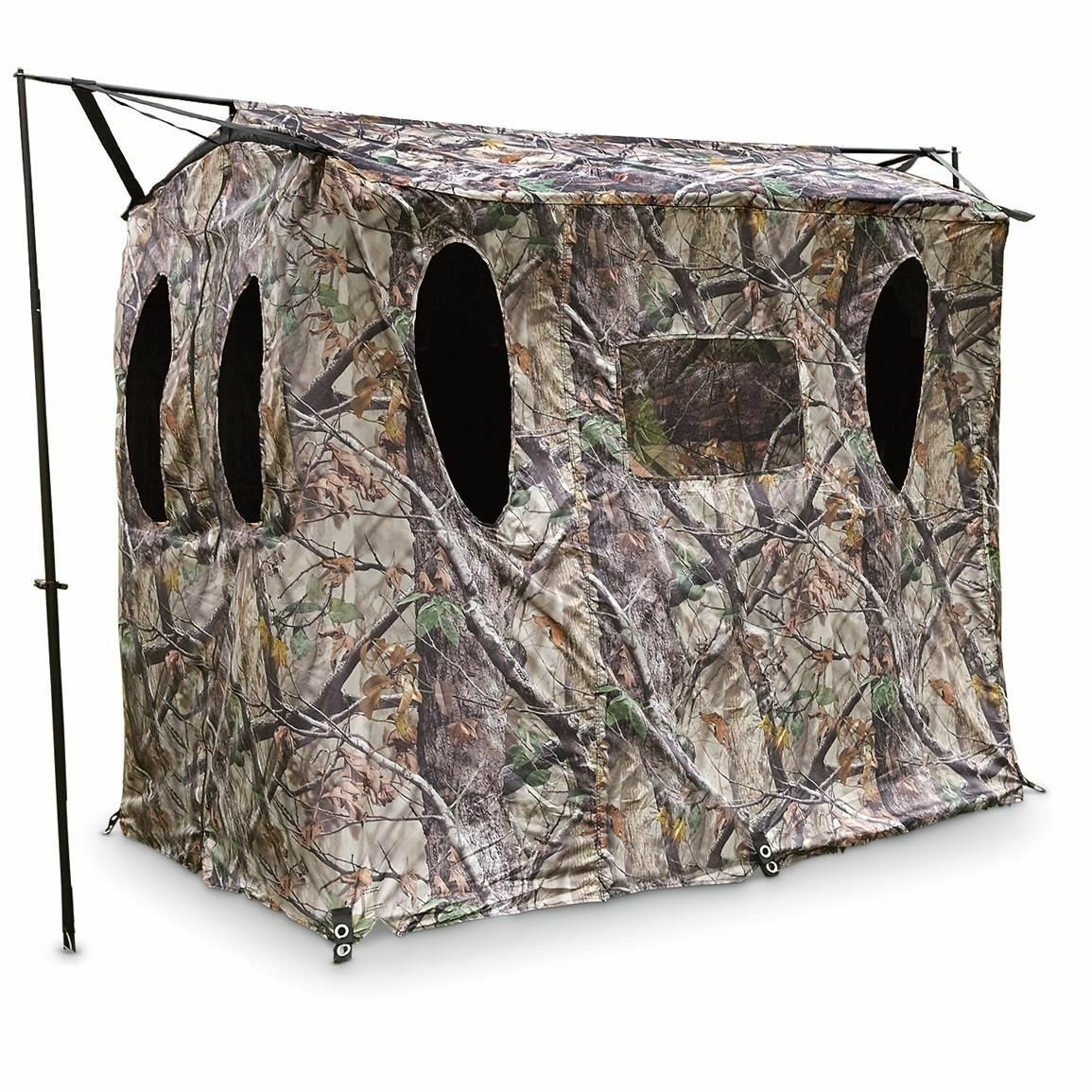 Extra Large Hunting Ground Blind Bow Deer Turkey Portable Wheelchair Friendly
