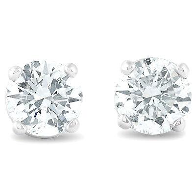 .40 ct Diamond Studs 14K White Gold