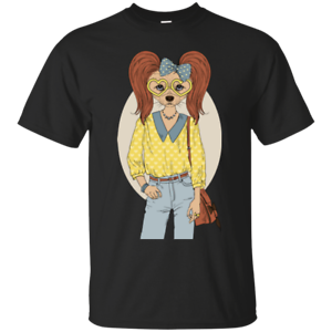 Unisex Hipster Dogs Tees and Hoodies. Find your look-a-like! ;)