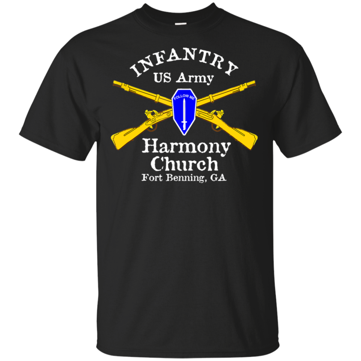 US Army Infantry Harmony Church T-Shirt