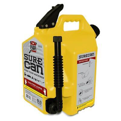 Surecan 5 Gallon 19 Liter Self Venting Diesel Fuel Can Rotating Spoutopen Box