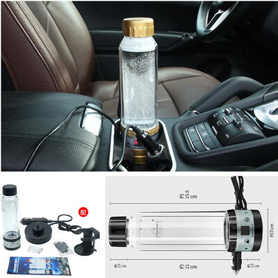 280ML Auto Car SUV Electric Water Coffee Milk Boiler Heating Warming Cup 12/24V