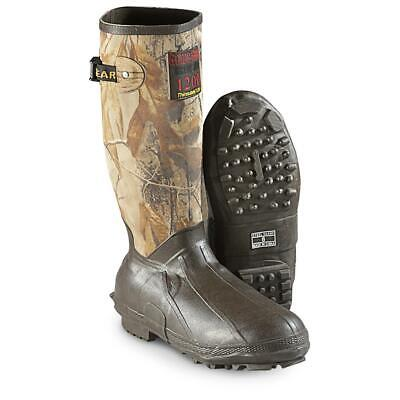New Guide Gear Mens 15 Insulated Rubber Boots, 1,200-gram Thinsulate