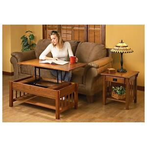 Castlecreek Mission-Style Lift-top Coffee Table-FREE SHIPPING!