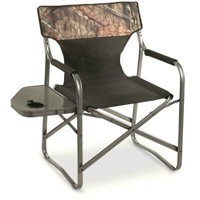 Portable Folding Director Chair Lounge Camping 500Lb Heavy D
