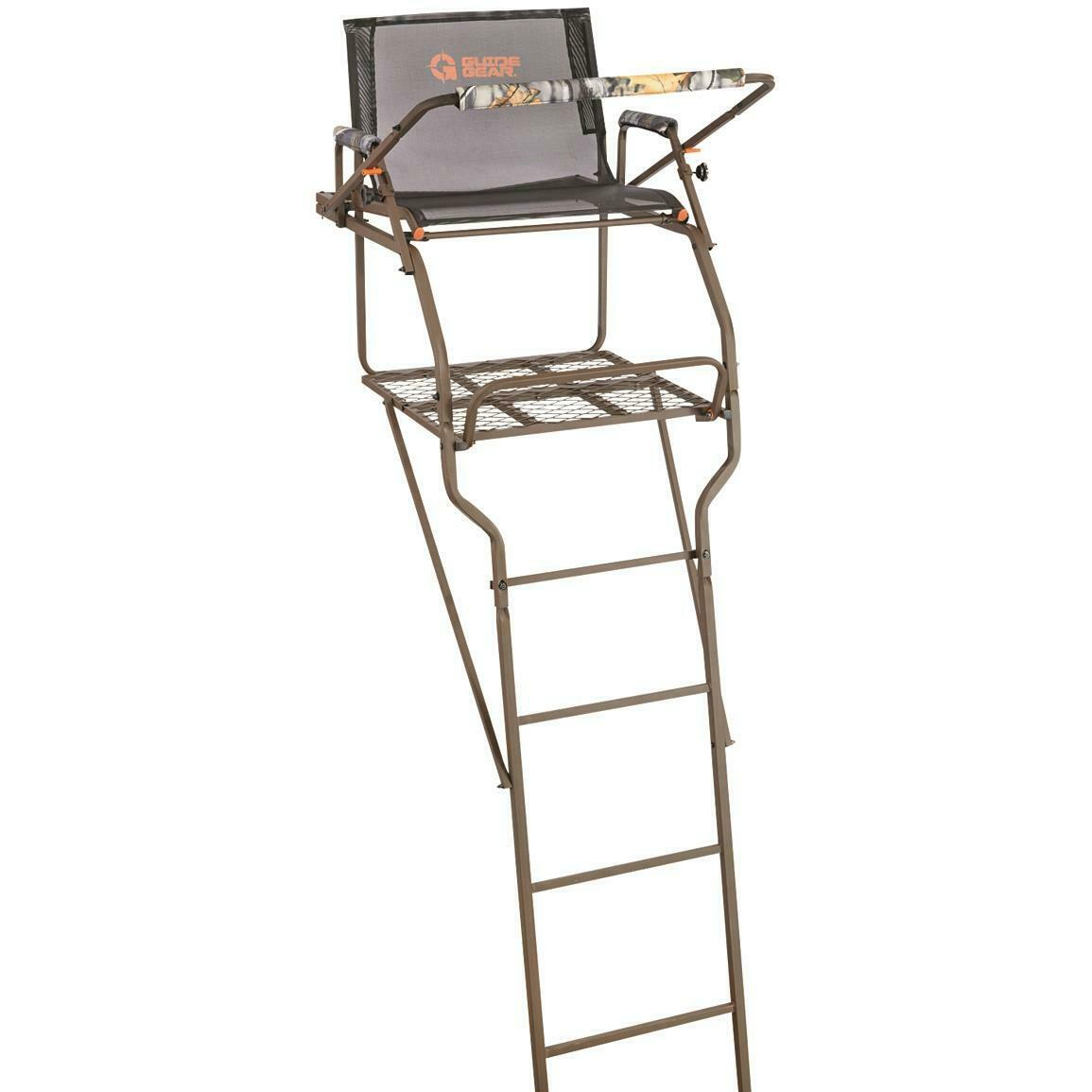 Ladder Tree Stand 15 to 18 ft Game Stands Gun Bow Hunting Ar