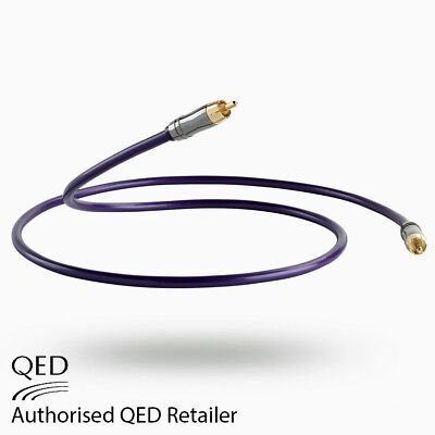 QED Performance DIGITAL Audio 1.0m 75Ω Coaxial CUSTOM Interconnect Cable