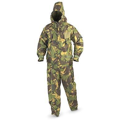 British Military Nbc Chemical Suit Mk Iv Dpm With Hood Size Medium M Hazmat