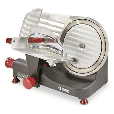 10 Blade 250w Commercial Meat Slicer Electric Deli Slice Veggie Cutter Kitchen