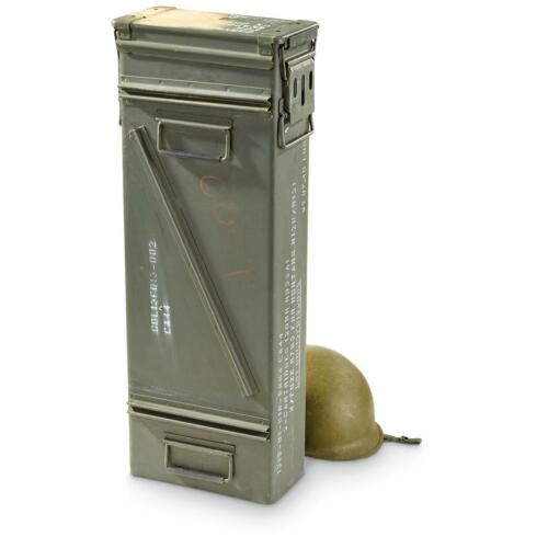 US Military Surplus Mortar .50 Caliber Ammo Can PA157 PA156 PA154 81 120mm Used