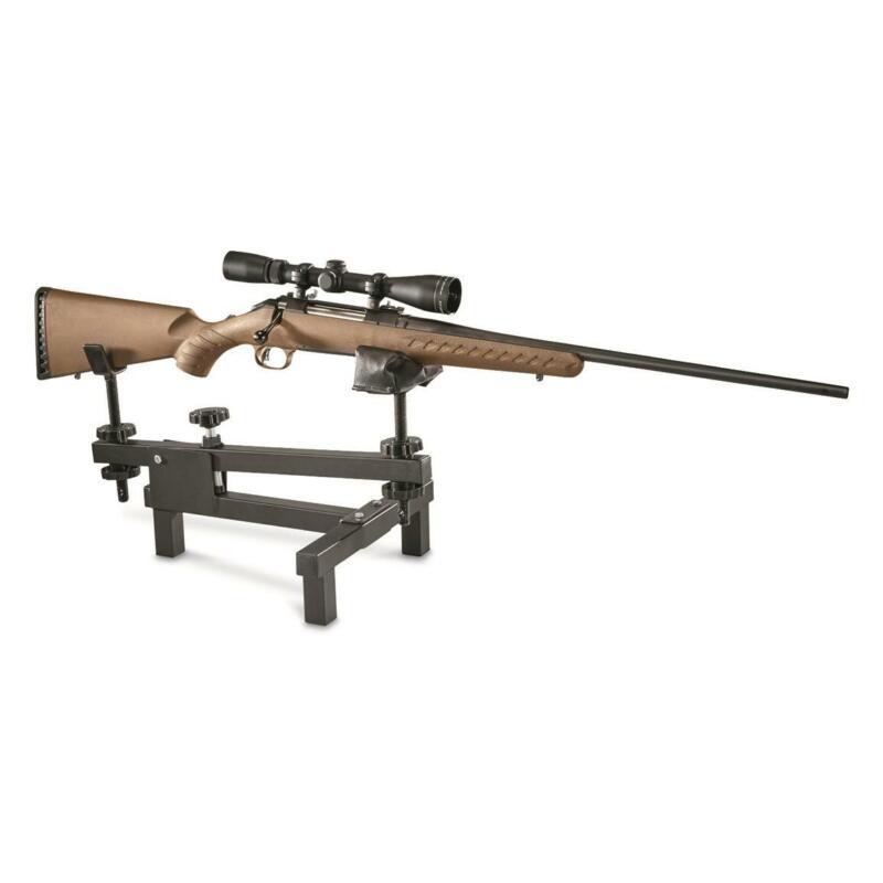 Shooting Rifle Bench Rest Gun Vise Adjustable Sighting Gunsmithing Stand Range