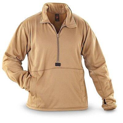 NEW USMC Polartec Grid Fleece Power Dry Shirt PECKHAM Size MEDIUM Pullover MCWCS