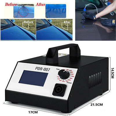 110V Hot Box Car Dent Removal Sheet Metal Repair Induction Heater Tools US Plug