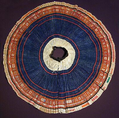 Original HMONG ceremonial handmade ethnic skirt,  North Thailand 20th century