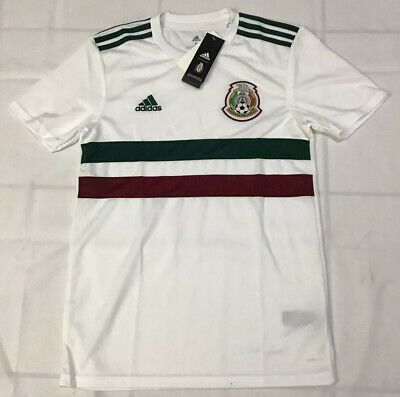 $90 adidas Mexico Men's Away Authentic Jersey Size Small