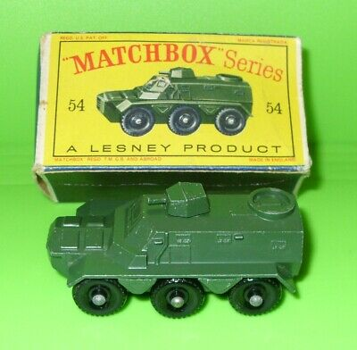 Repro Box Matchbox 1:75 Nr.54 Saracen Carrier