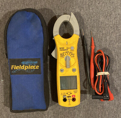 Fieldpiece Sc53 Dual Display Mini Clamp Meter