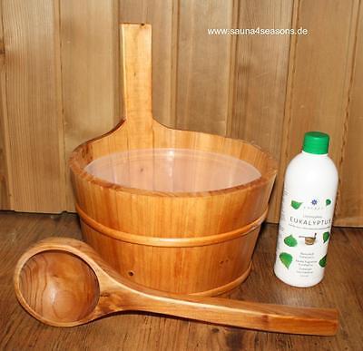 Secchiello per sauna accessori secchio Set OLIO INFUSIONE