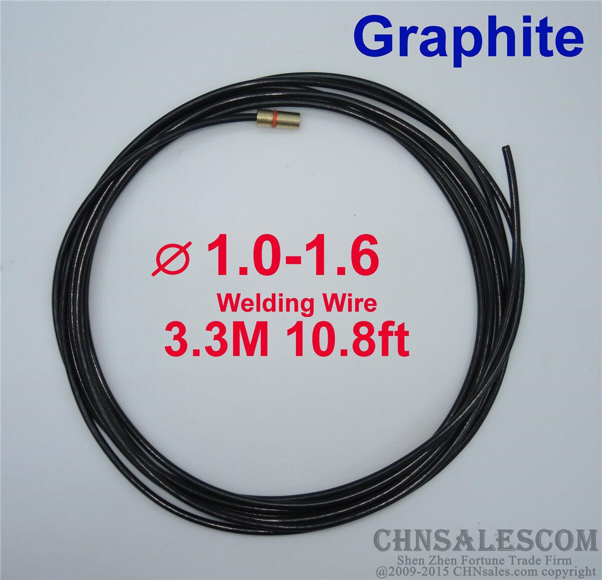 Panasonic MIG Welding Graphite Liner 1.0-1.6 Welding Wire 3.3M 10.8 ...