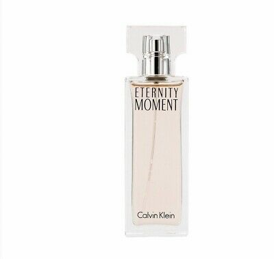 Calvin Klein Eternity Moment Womens Eau De Parfum Perfume 50ML Brand New