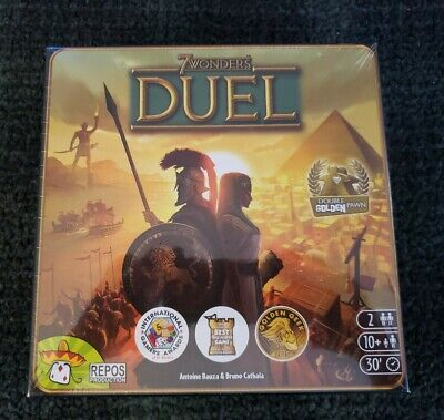 7 WONDERS DUEL - 2 Player Strategy Board Game Repos Production -NEW SEALED