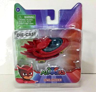 NEW PJ Masks OWL-GLIDER Die-Cast Car OWLETTE AMAYA 2017 Collectible Toy - Owl Masks