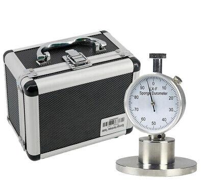 Dial Soft Sponge Hardness Tester Meter Foam Durometer Sclerometer Gauge