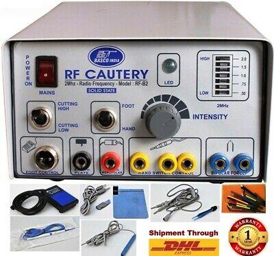 Basco Brand Electrosurgical Cautery Dermatology Neuro Surgery 2mhz Cautery Unit