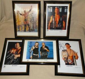 WWE A4 SIZE FRAMED PICTURES - JOHN CENA, RANDY ORTON ETC Hoppers Crossing Wyndham Area Preview