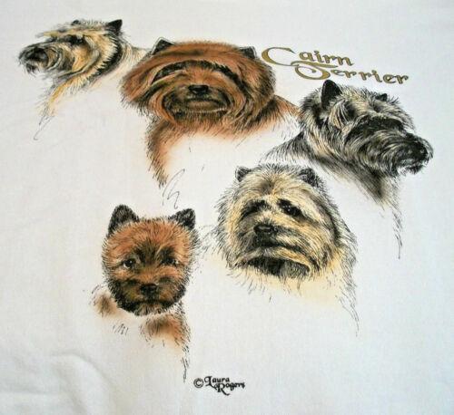 """Cairn Terrier Sweatshirt """" White """" 3XL ( 54 ~ 56 )"""