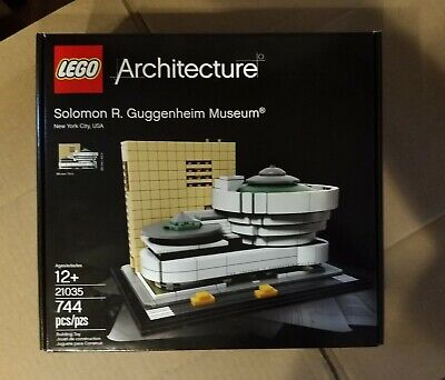 LEGO Architecture 21035 Solomon R. Guggenheim Museum Retired Set New Sealed Box