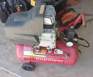 2hp 24L Electric Air Compressor - Perfect working order Moggill Brisbane North West Preview