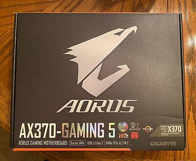 Gigabyte Aorus AX370-Gaming 5 Motherboard AM4 Socket