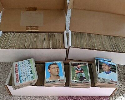 40 Picks $42 U Pick EX EX+ 1970 Topps Lot Baseball Huge List Complete Your Set