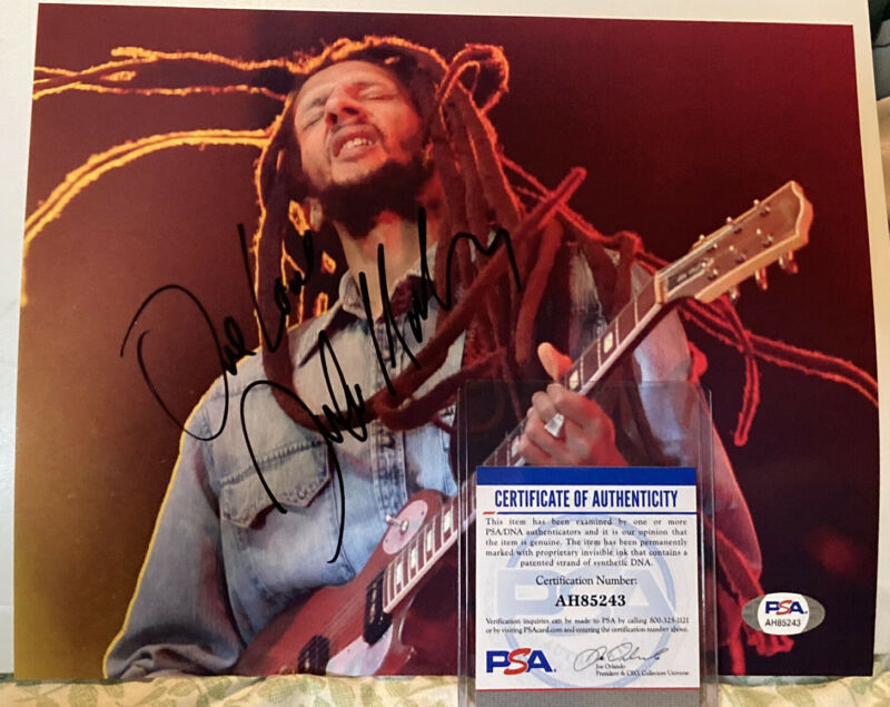Julian Marley Autographed 8x10 Photo Bob Marley Son Reggae Music One Love PSA