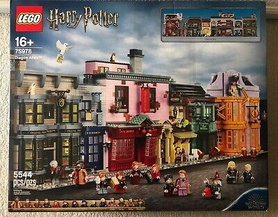 LEGO 75978 Harry Potter Diagon Alley New Sealed *Will Ship Boxed Up*